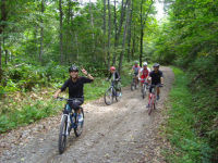 自転車MTB林道ツーリング!