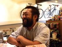 片足サイクリスト田中哲也がオーストラリア・パース~シドニー5000Km無事完走し、ご来店♪