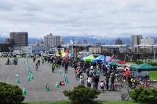 北海道スポーツサイクルフェスティバル只今開催中!