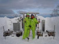 スキーヤーでもあり片足サイクリスト! 田中哲也の驚異!