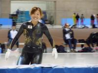 この冬活躍した人:女子スピードスケート 石澤志穂選手♪