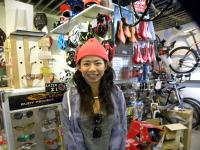 全日本スキー技術選で活躍されている大場 朱莉さんがご来店♪