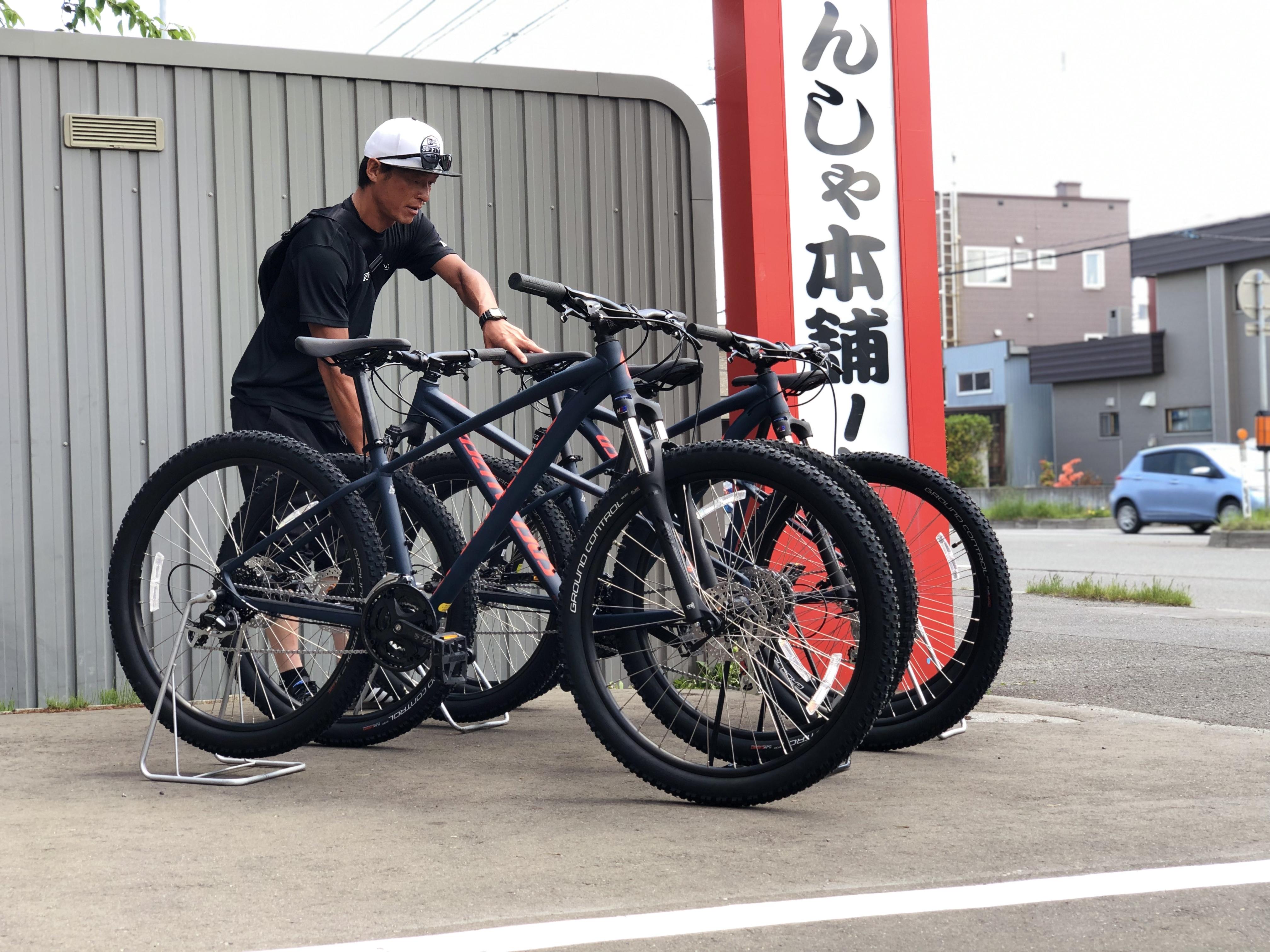 プロスキーヤー浅川誠さんにレンタル用MTBをご購入頂きました♪
